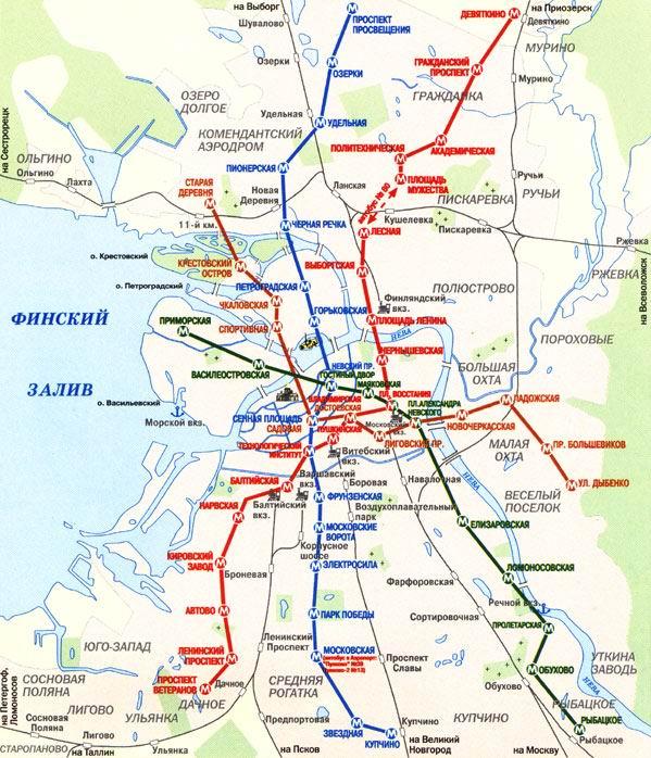 тоже на подробной карте города